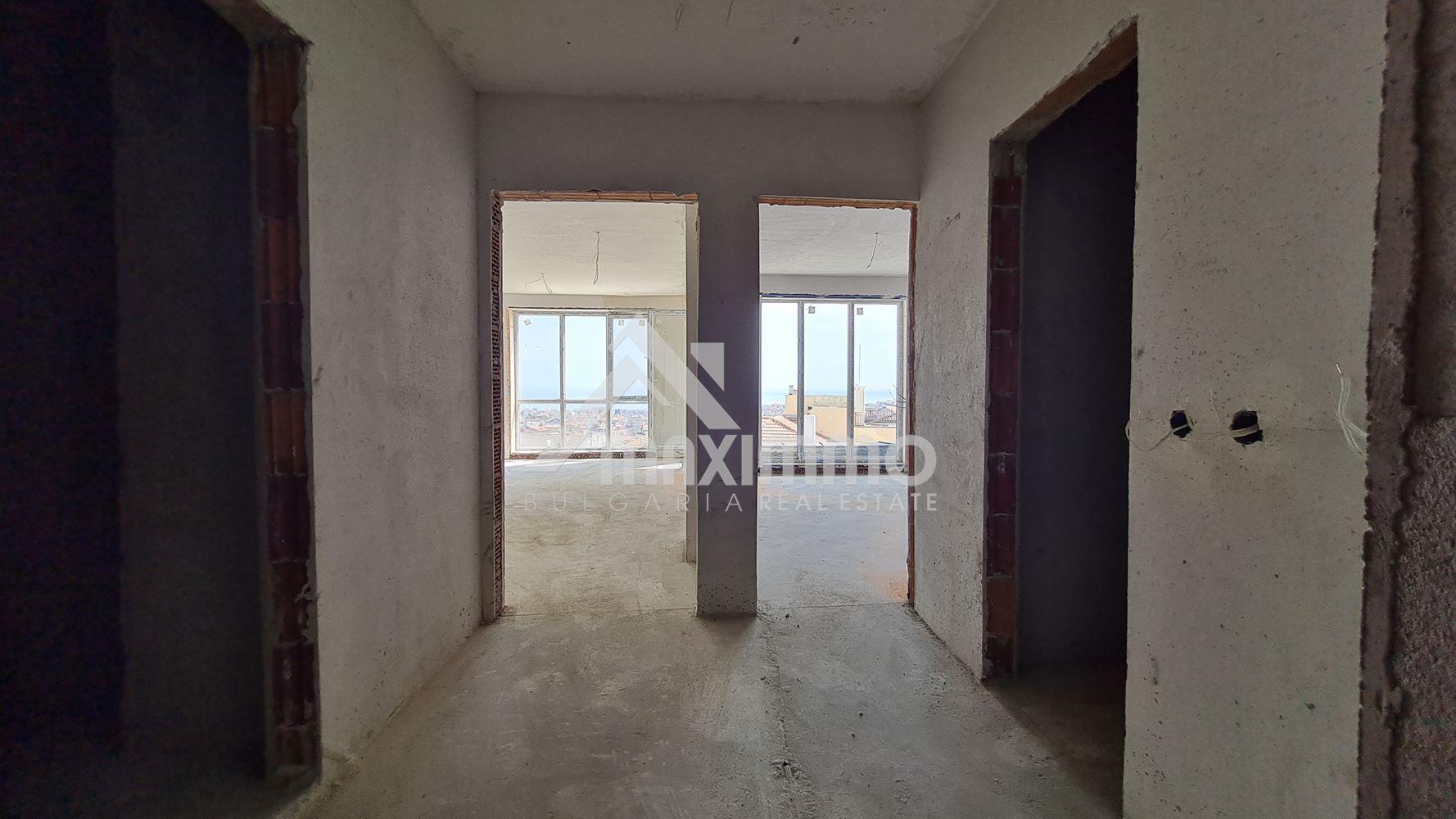 Най-ниската цена за района. Виница! Прекрасен двустаен апартамент, в новострояща се сграда. Подходящ за инвестиция!